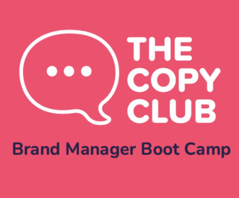 Copy Club Brand Manager Boot Camp logo